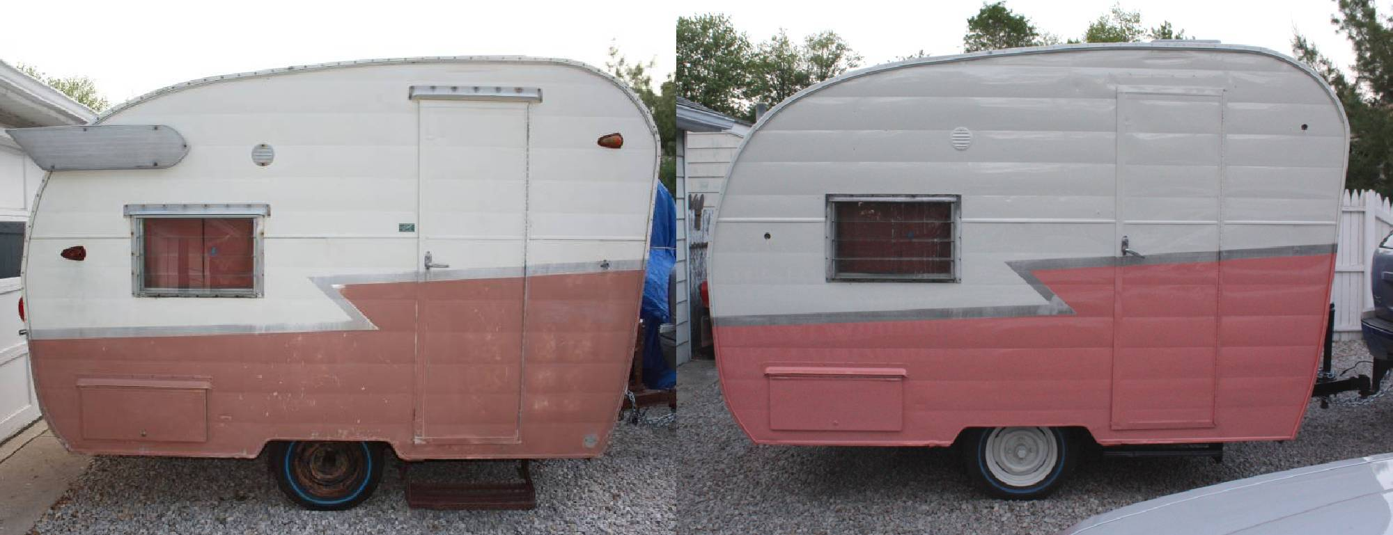 Before And After Of The Shasta Compact