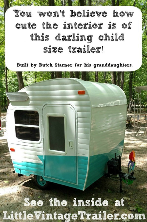 The Cutest Child Sized Trailer Ever Built!