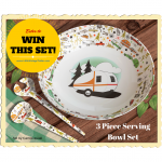 Camp Casual Serving Set Give-a-way!