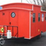 One of a kind Reproduction Caboose For Sale